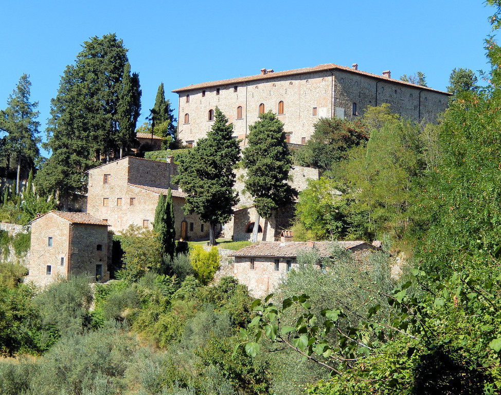 Castello Bibbione from the road