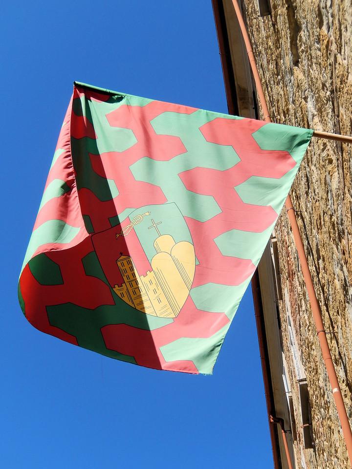 Flag in Arezzo