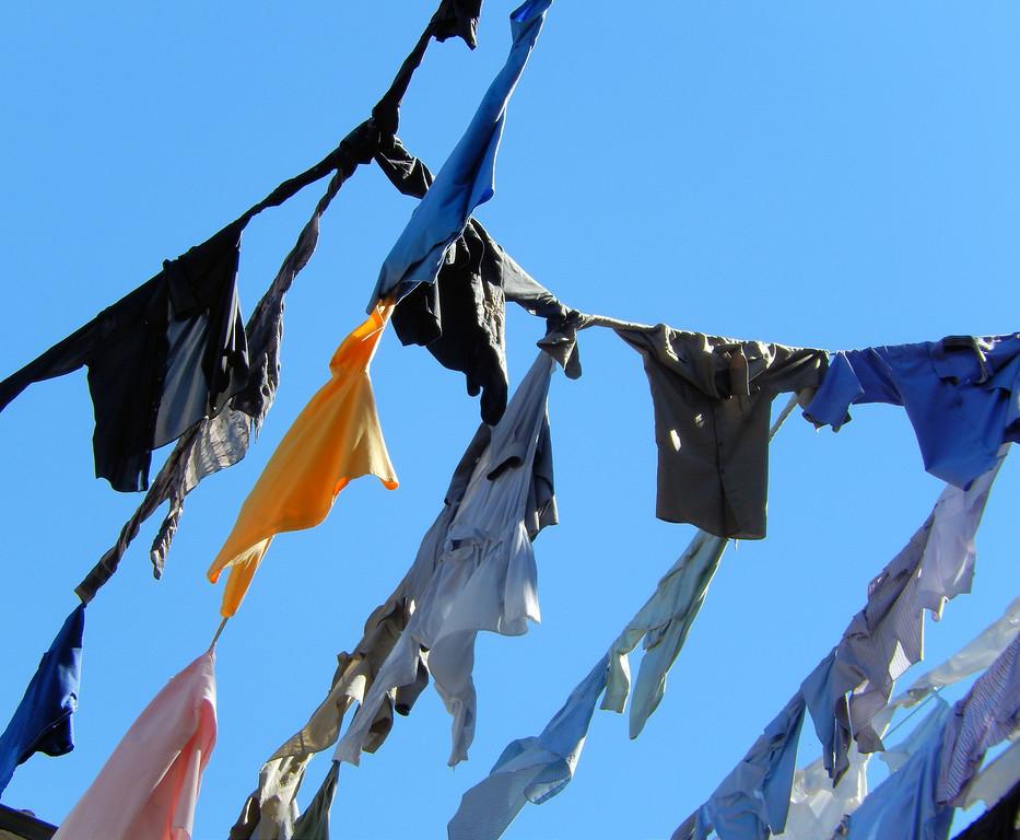 Laundry Sculpture I